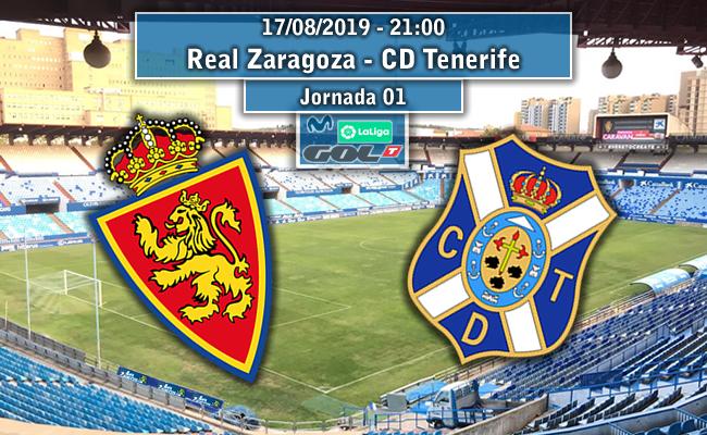 Real Zaragoza – C.D. Tenerife | La Previa