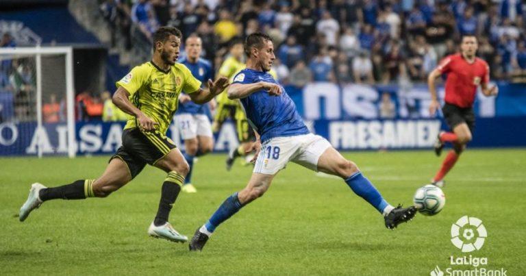 R Oviedo 2 – 2 Real Zaragoza   Crónica
