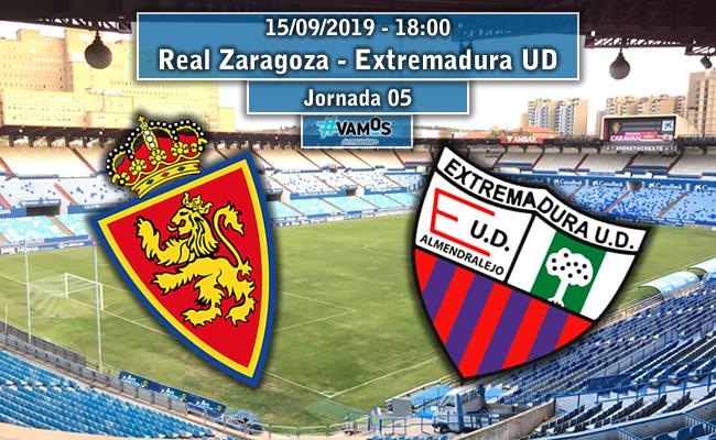 Real Zaragoza – Extremadura UD | La Previa