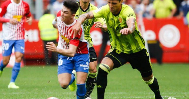 R Sporting Gijón 4 – 0 Real Zaragoza | Crónica