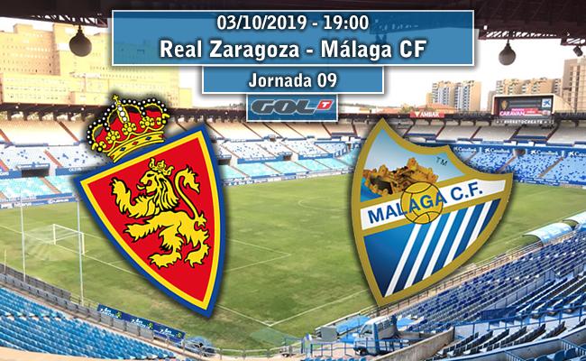 Real Zaragoza – Málaga CF    La Previa
