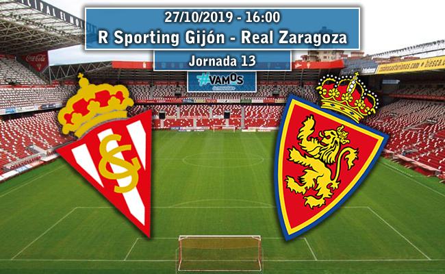 R Sporting de Gijón – Real Zaragoza | La Previa