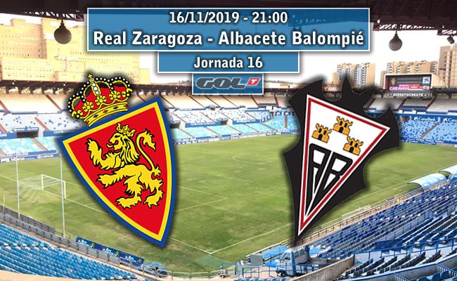 Real Zaragoza – Albacete Balompié | La Previa
