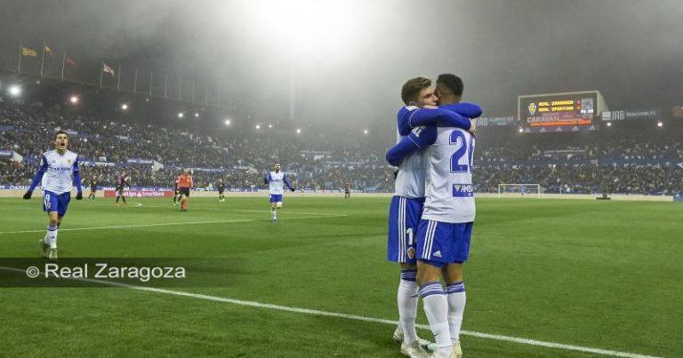 Real Zaragoza 2 – 0 R Sporting Gijón | Crónica