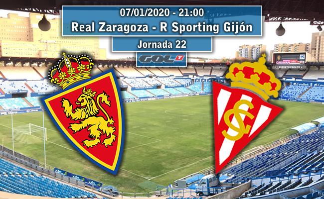 Real Zaragoza – R Sporting Gijón | La Previa