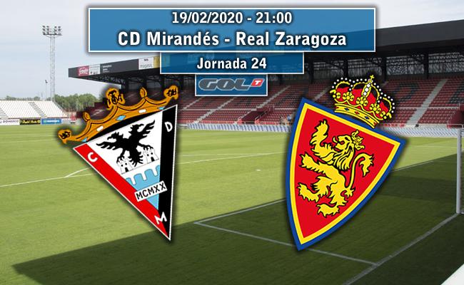 CD Mirandés – Real Zaragoza | La Previa