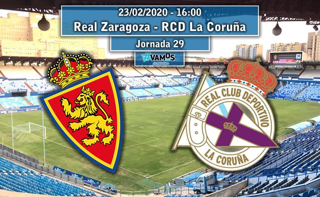 Real Zaragoza – RC Deportivo Coruña | La Previa