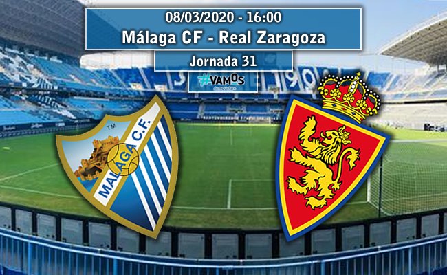 Málaga CF – Real Zaragoza | La Previa