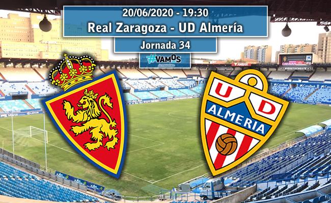 Real Zaragoza – U.D. Almería  | La Previa