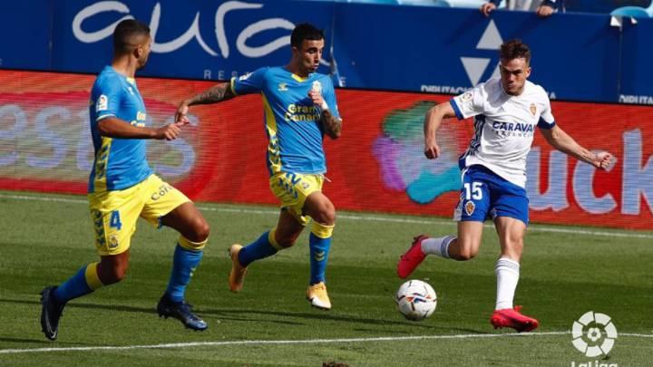 Real Zaragoza 2 – 2 UD Las Palmas | Crónica