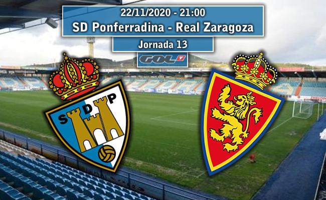 SD Ponferradina – Real Zaragoza | La Previa