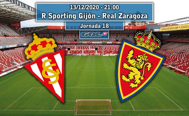 R Sporting Gijón – Real Zaragoza | La Previa