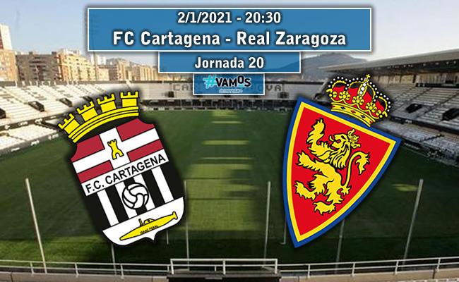 FC Cartagena – Real Zaragoza | La Previa