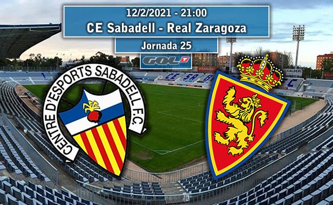 CE Sabadell – Real Zaragoza | La Previa