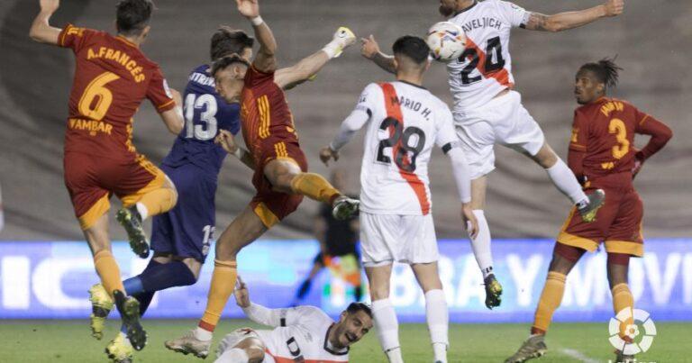 Rayo Vallecano 3 – 2 Real Zaragoza | Crónica