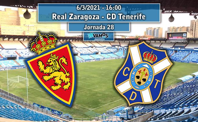 Real Zaragoza – CD Tenerife   La Previa
