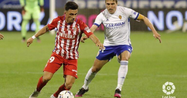 Real Zaragoza 0 – 0 R Sporting Gijón | Crónica